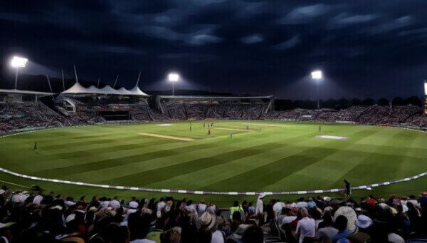 t20 blast league stadium with fans watching