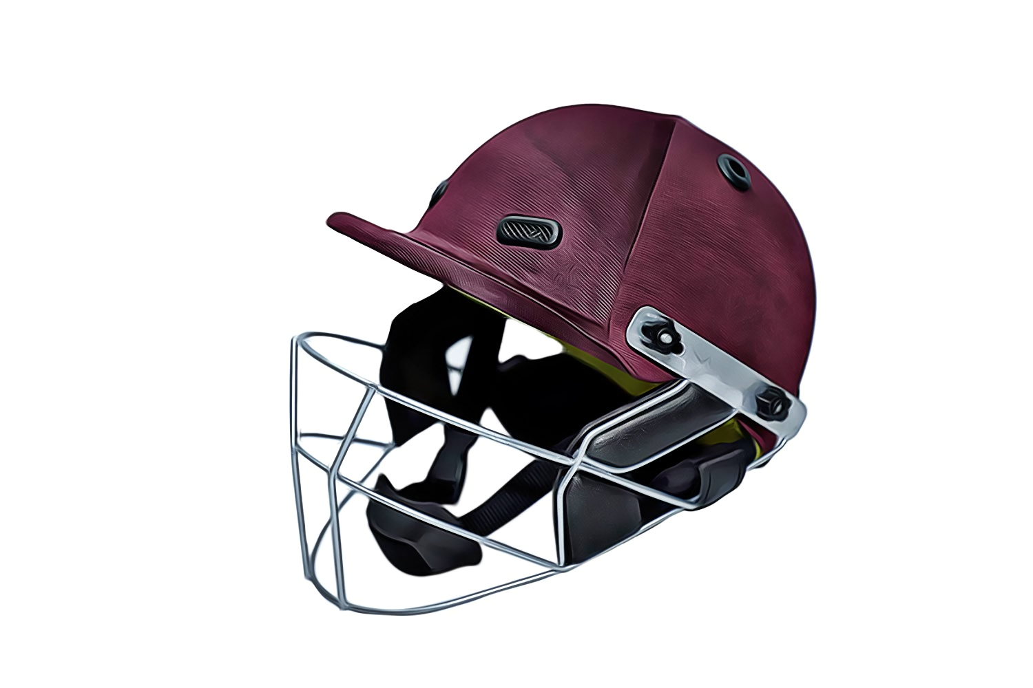 Klapp Armor Cricket Helmet with Back Head Protection
