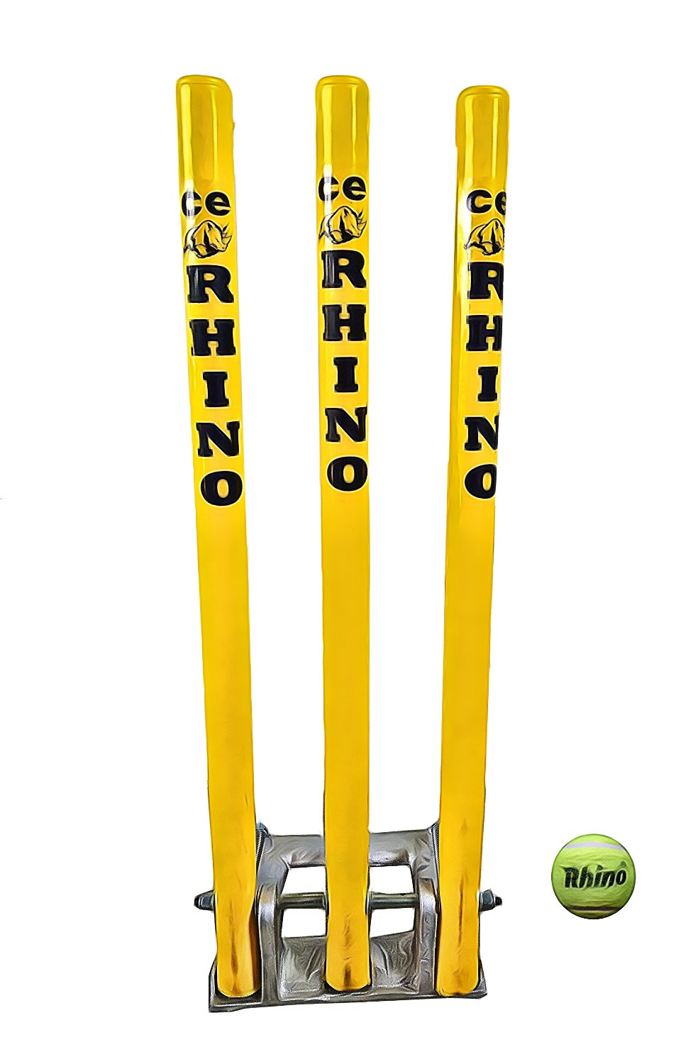 CE Rhino Cricket Spring Back Cricket Stump Set