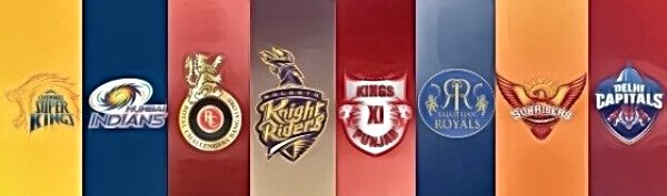 eight teams competing in the indian premier league