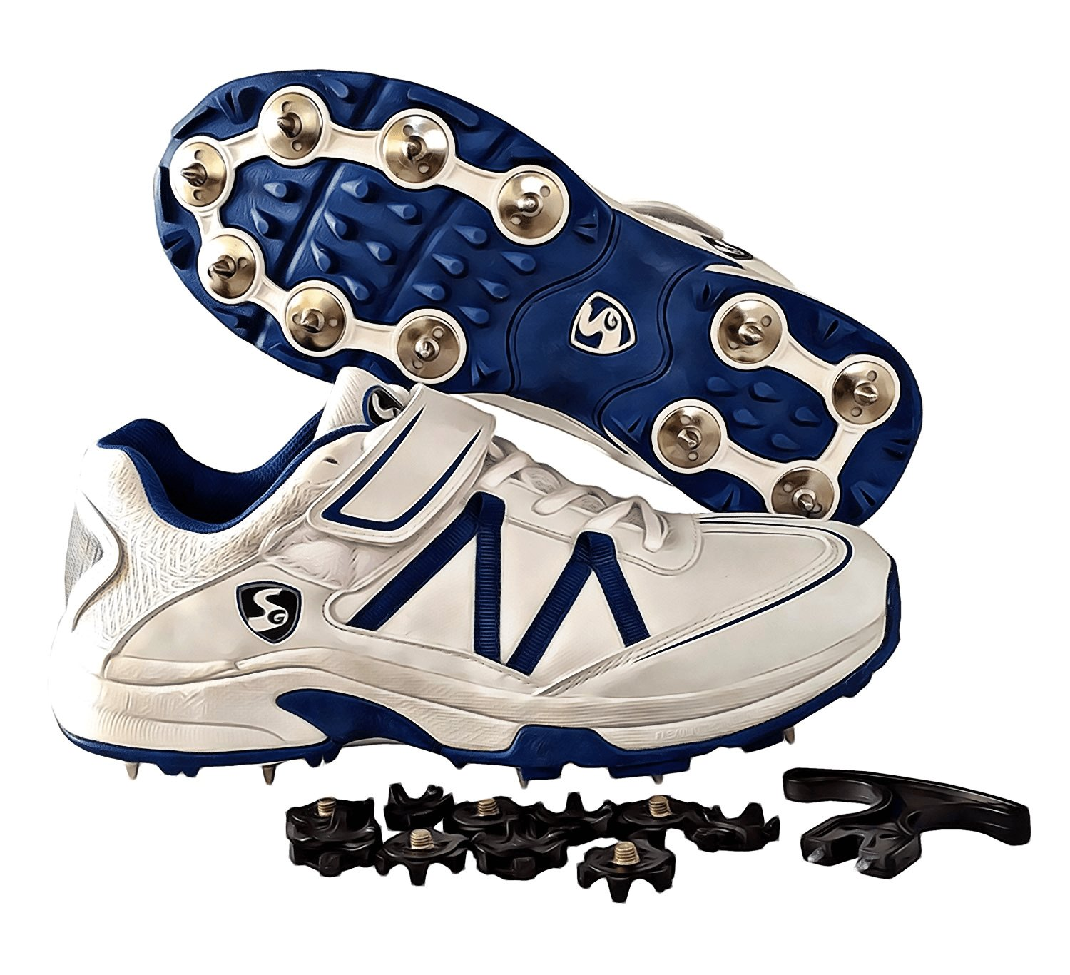 SG Ex-Treme Cricket Studs with Metal Spikes