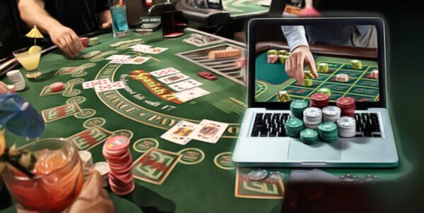 online casino games like poker and baccarat