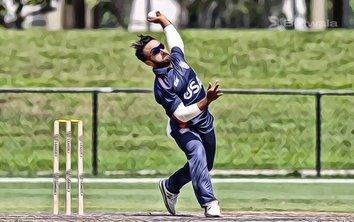 Nisarg Patel Suspended From Bowling in International Cricket