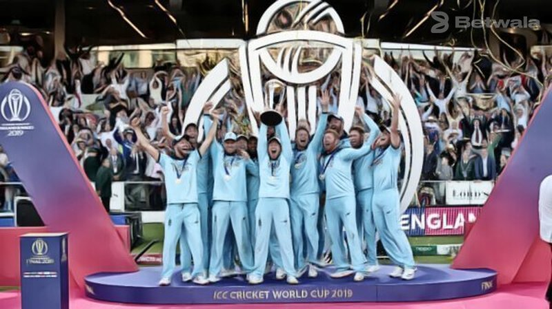 England Team Happy with 2019 World Cup Win