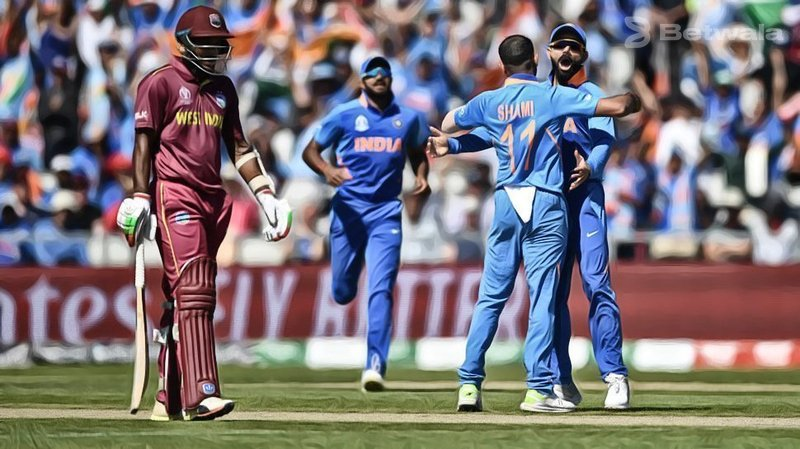 West Indies Edge India To Tie Series