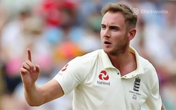 Stuart Broad was Handed One Demerit Point