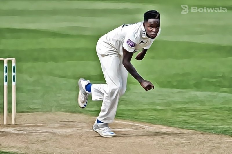 Fidel Edwards Continues To Play For Hampshire