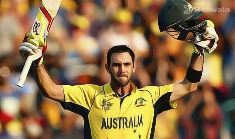Glenn Maxwell Currently BBL's Top Player