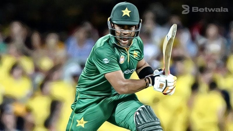 Umar Akmal Ranks Second with the Most Ducks in T20Is