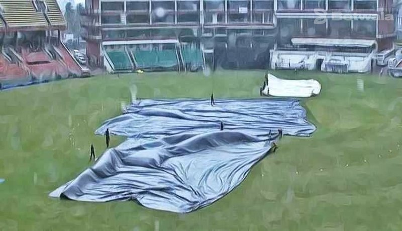 First Test Between India and South Africa Interrupted By Rain