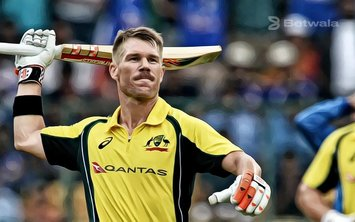 David Warner Withdraws From 'The Hundred'