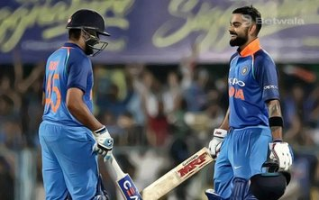Sharma and Kohli Partnership Leads India to Victory