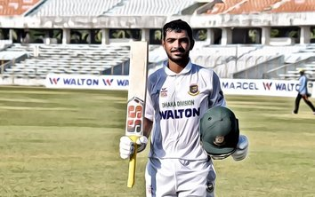 Saif Hassan Tests Positive for COVID-19