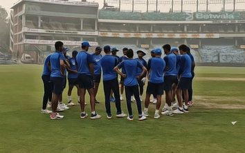 Ganguly Thanks Players for Playing Despite the Smog in Delhi