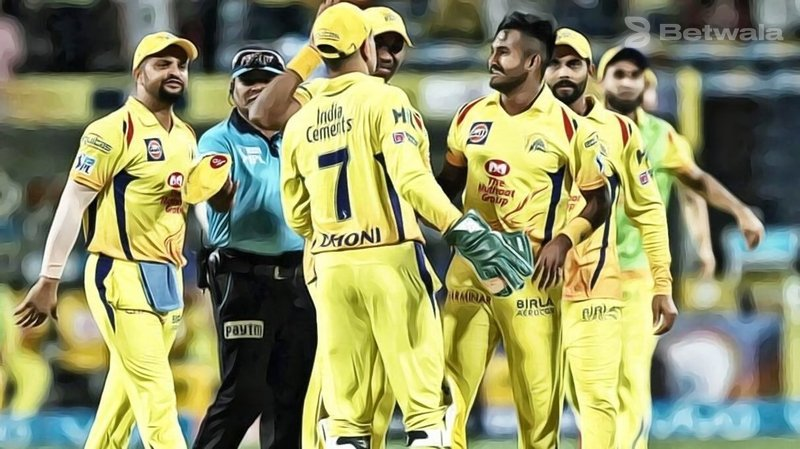 CSK Players and Staff Test Negative for COVID-19