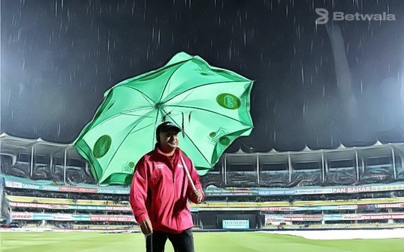 Rain Stops the Opening of the Series in Guwahati