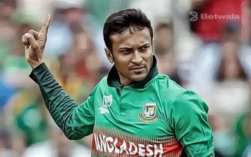 Shakib al Hasan to Bat at Number Four