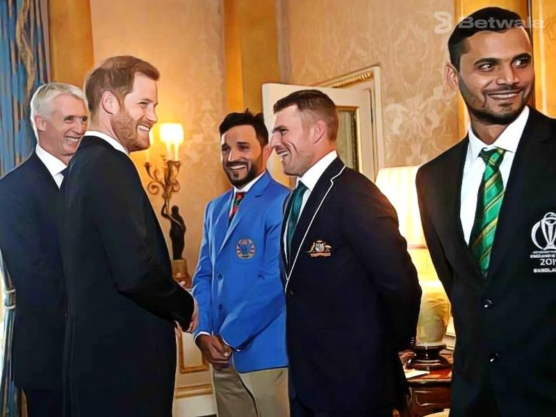 Prince Harry Comments on Australia and Sri Lanka Captains